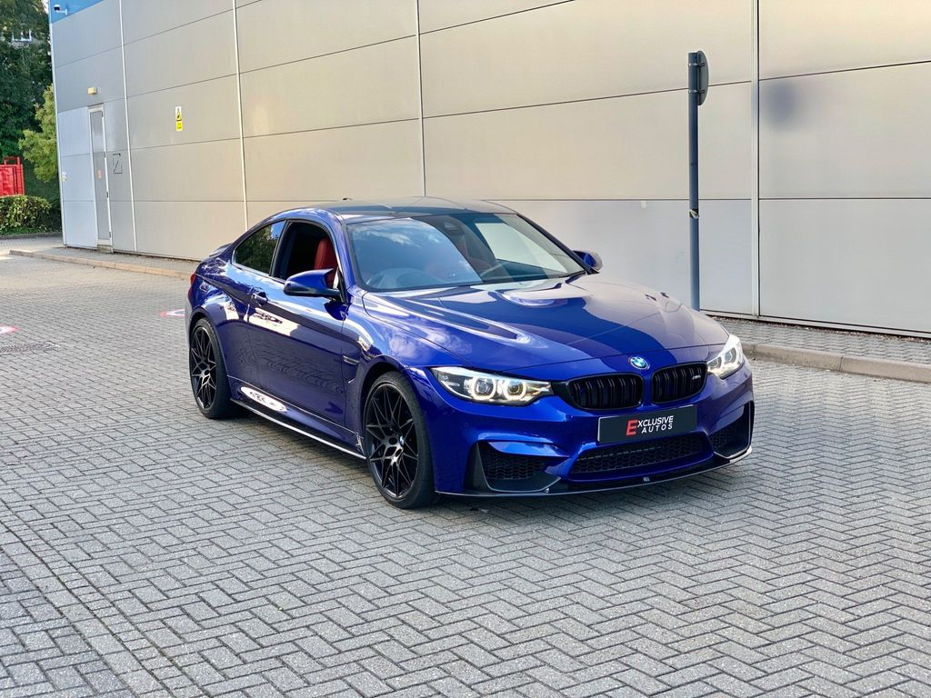 BMW M4 Coupe 3.0 BiTurbo GPF (Competition Pack) DCT (s/s) 2dr
