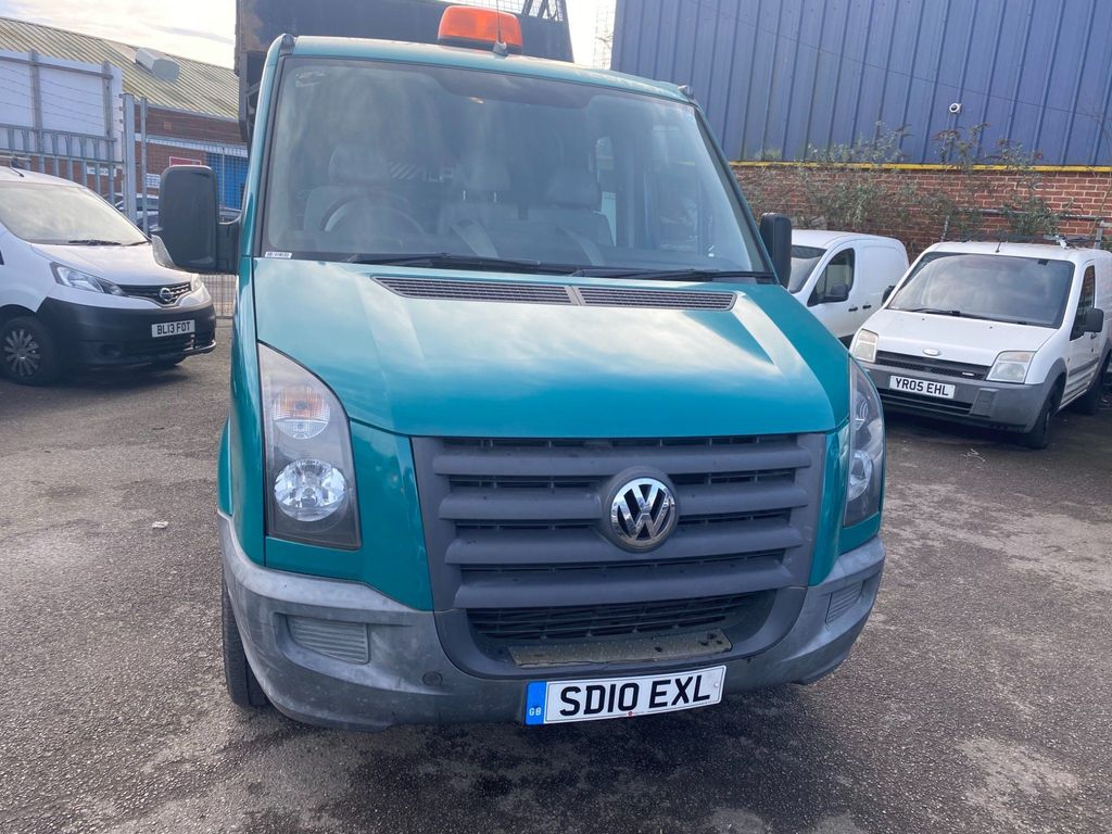 Volkswagen Crafter Tipper 2.5 BlueTDI CR35 Crew Cab Chassis 4dr (LWB)