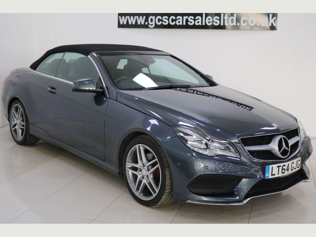 Mercedes-Benz E Class Convertible 2.1 E220 CDI BlueTEC AMG Line (Premium) Cabriolet 7G-Tronic Plus (s/s) 2dr