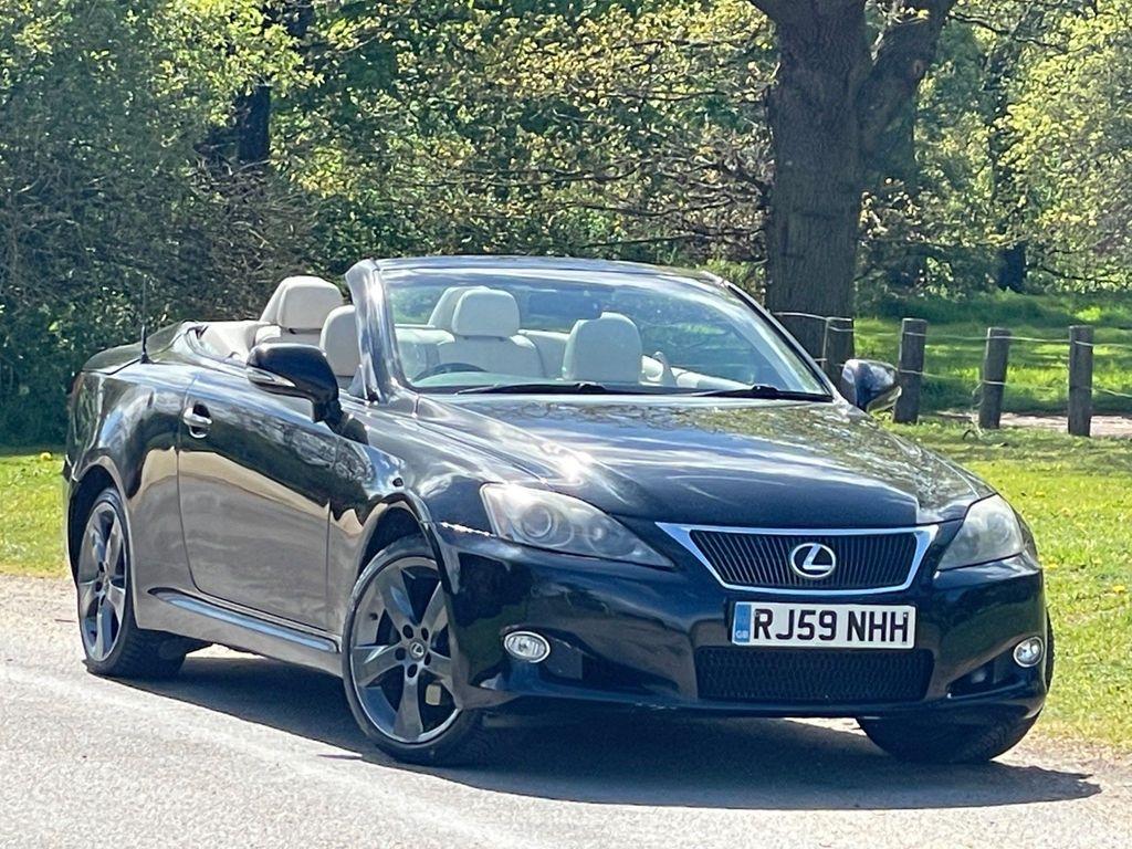 Lexus IS 250 Convertible 2.5 SE-L 2dr