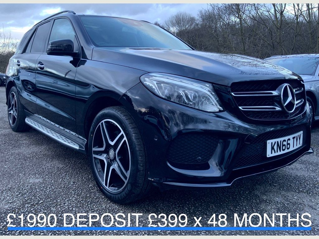 Mercedes-Benz GLE Class SUV 2.1 GLE250d AMG Line (Premium Plus) G-Tronic 4MATIC (s/s) 5dr