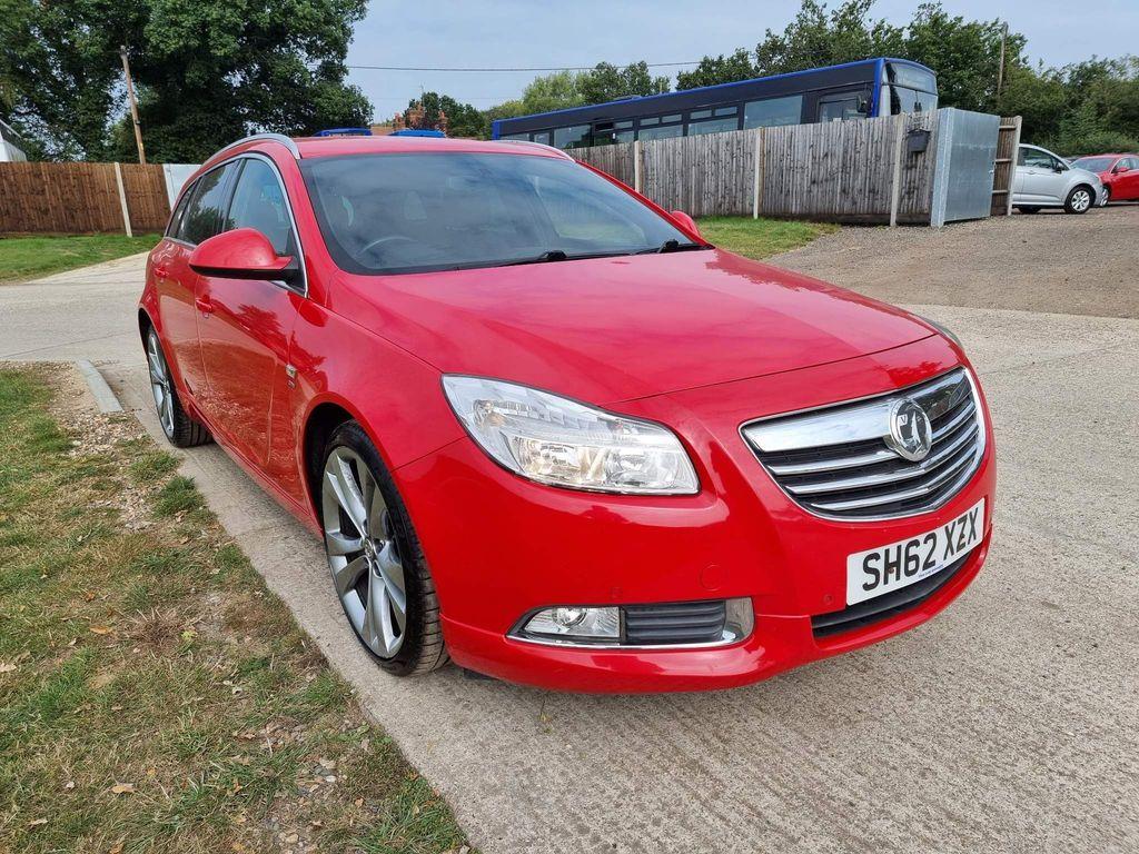 Vauxhall Insignia Estate 2.0 CDTi 16v SRi Red 5dr