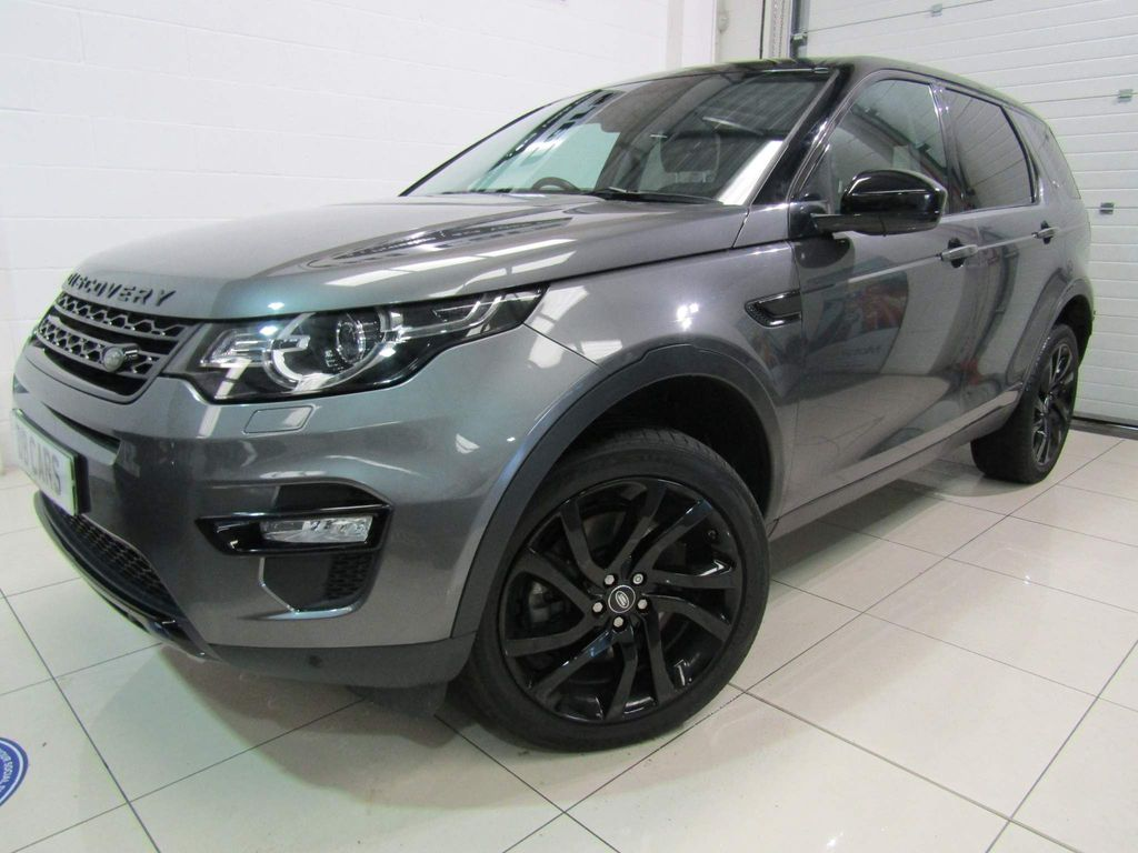Land Rover Discovery Sport SUV 2.0 SD4 HSE Black Auto 4WD (s/s) 5dr