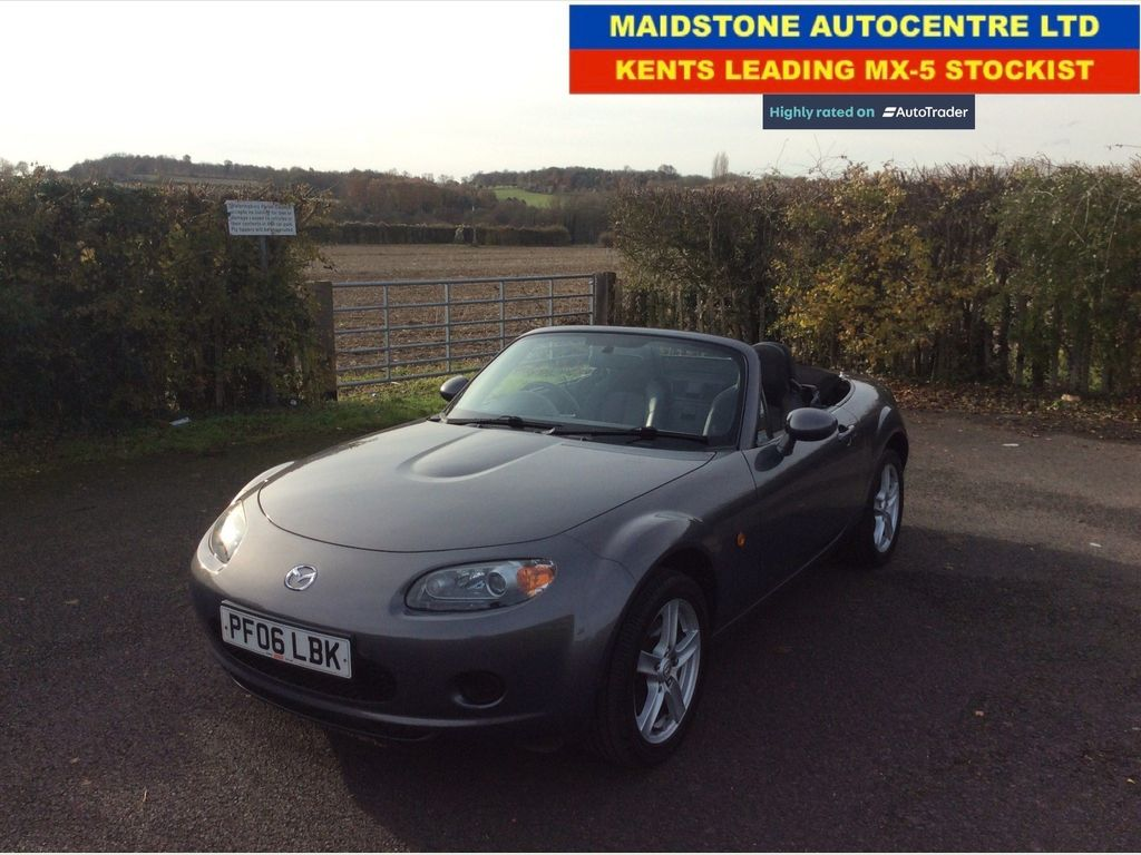 Mazda MX-5 Convertible 1.8 Option Pack with ONLY 23,000 Miles