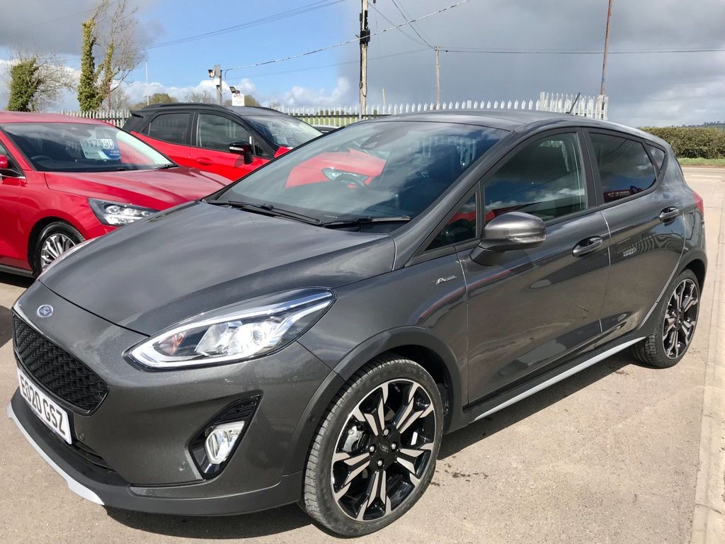 Ford Fiesta Hatchback 1.5 TDCi Active X Edition (s/s) 5dr