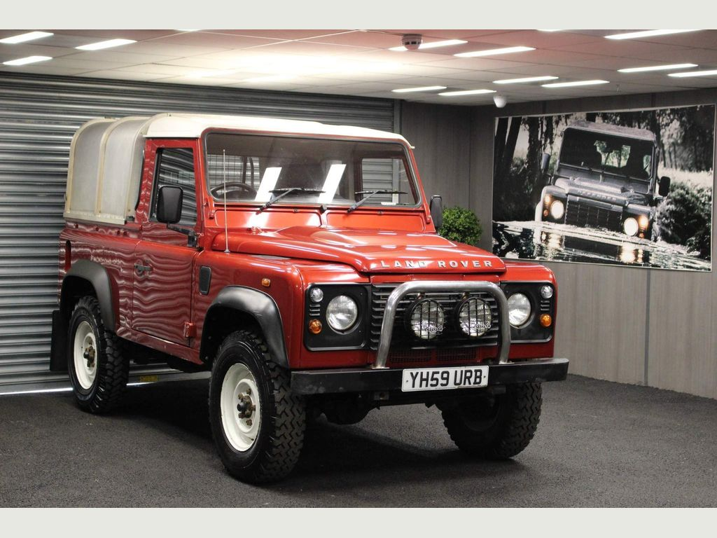 Land Rover Defender 90 Pickup 2.4 TDi Pick-Up 2dr