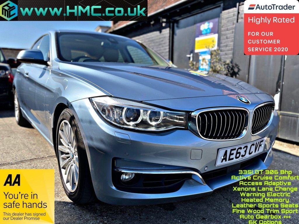 BMW 3 Series Gran Turismo Hatchback 3.0 335i Luxury GT Auto (s/s) 5dr