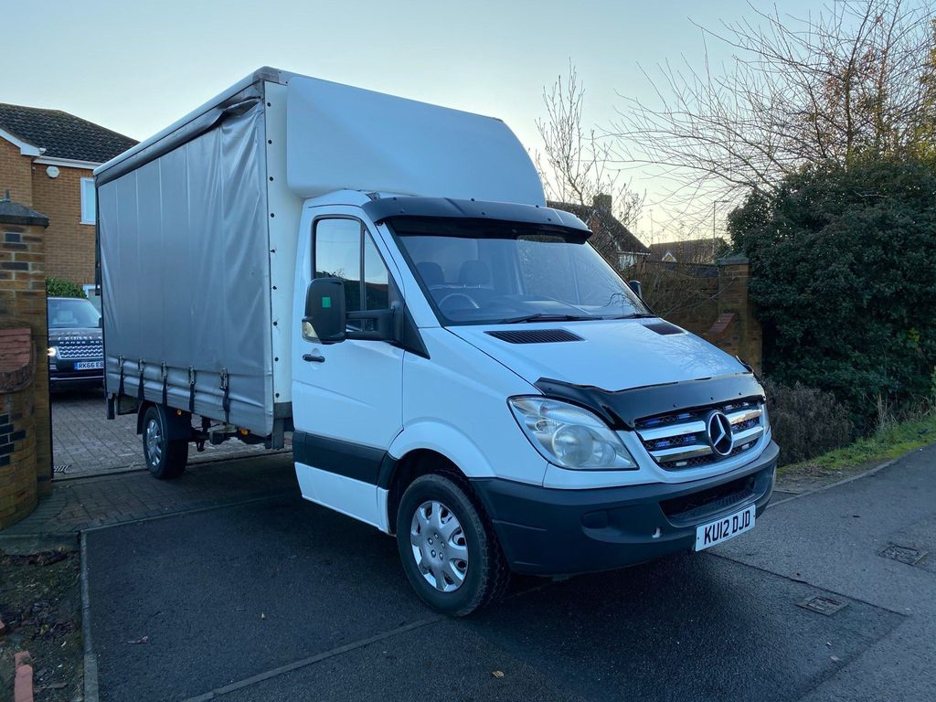 Mercedes-Benz Sprinter Curtain Side 313CDI EURO 5 CURTAIN SIDE WITH TAILLIFT