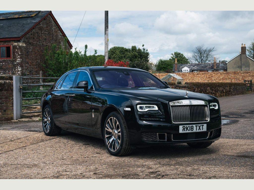 Rolls-Royce Ghost Saloon 6.6 V12 Auto 4dr