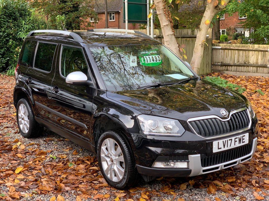 SKODA Yeti SUV 2.0 TDI SE L Drive Outdoor (s/s) 5dr