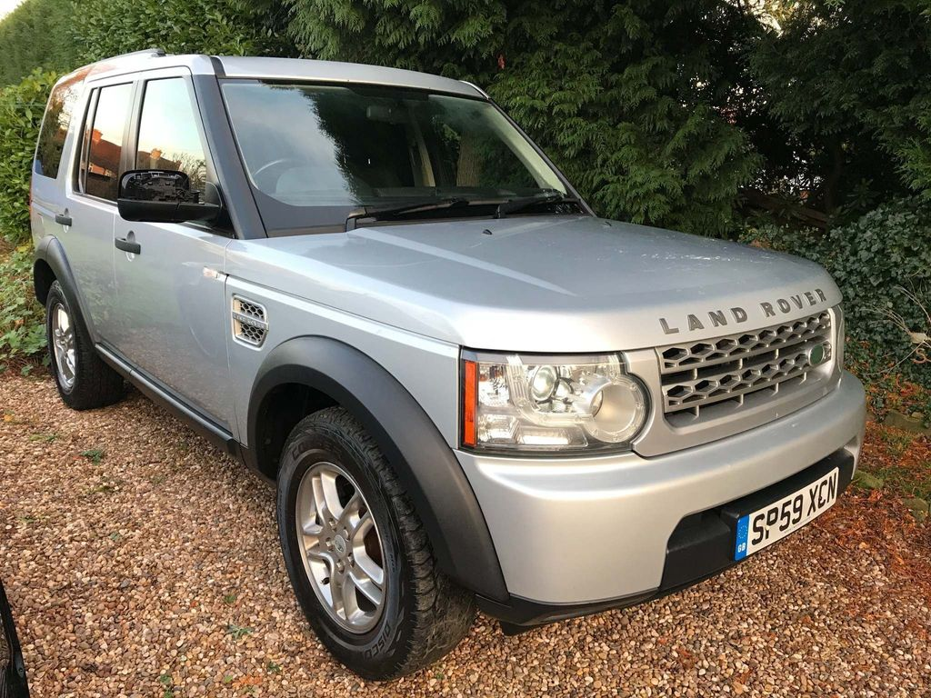 Land Rover Discovery 4 Panel Van