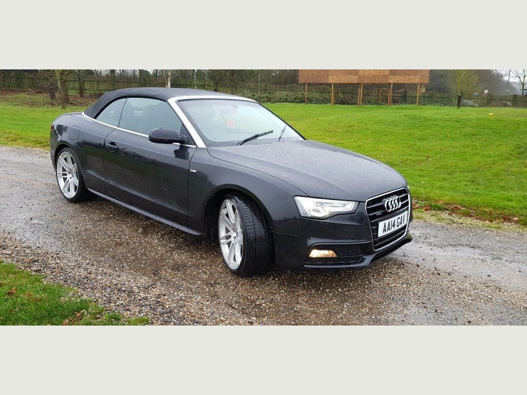 Used Audi A5 Cabriolet Convertible 3 0 Tdi S Line Special Edition Cabriolet S Tronic Quattro 2dr In Romford Havering Woodchurch Cars