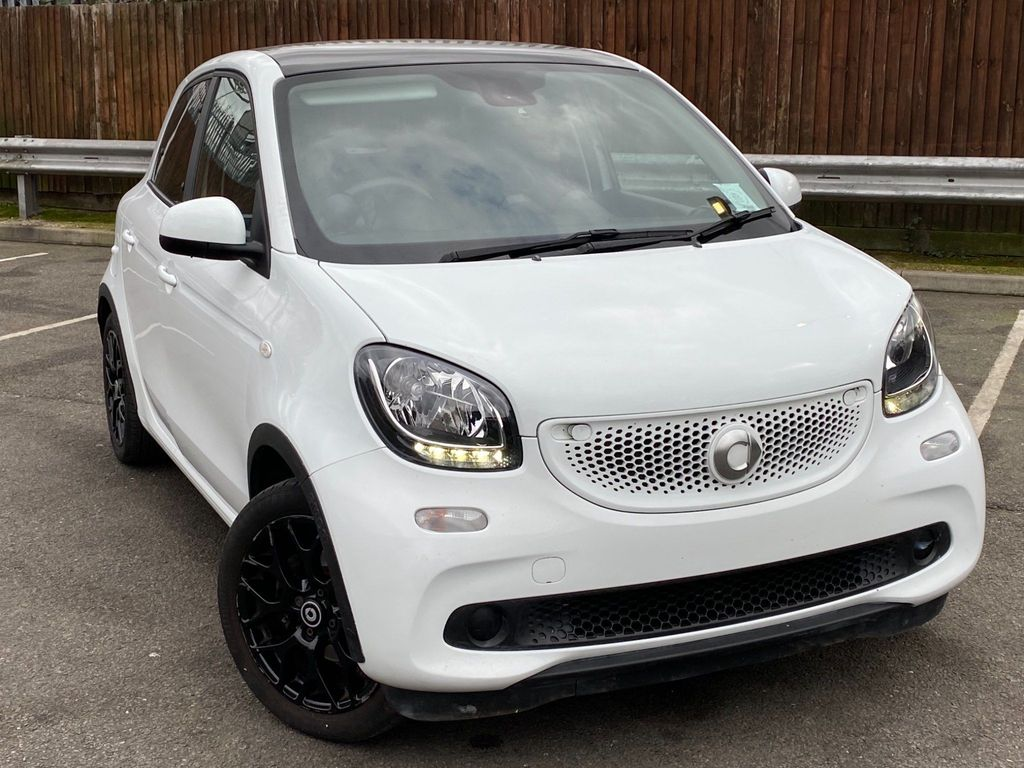 Smart forfour Hatchback 1.0 Edition White Twinamic (s/s) 5dr