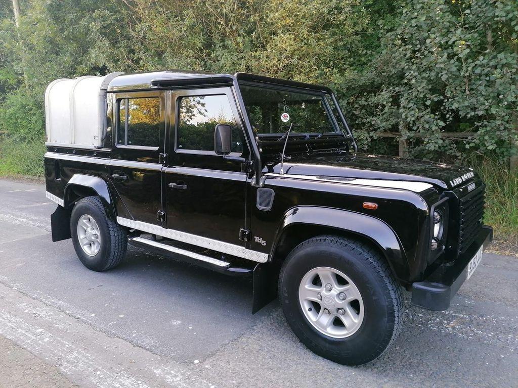 Land Rover Defender 110 SUV 2.5 TD5 Black 5dr