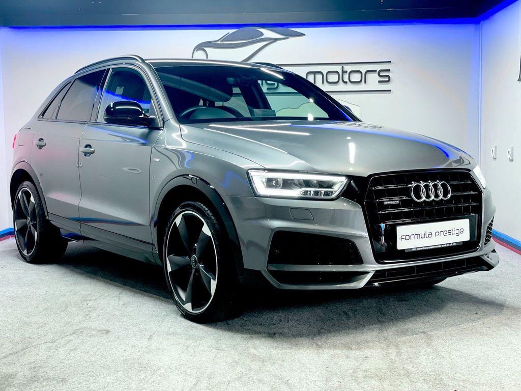 Audi Q3 SUV 2.0 TDI Black Edition S Tronic quattro (s/s) 5dr