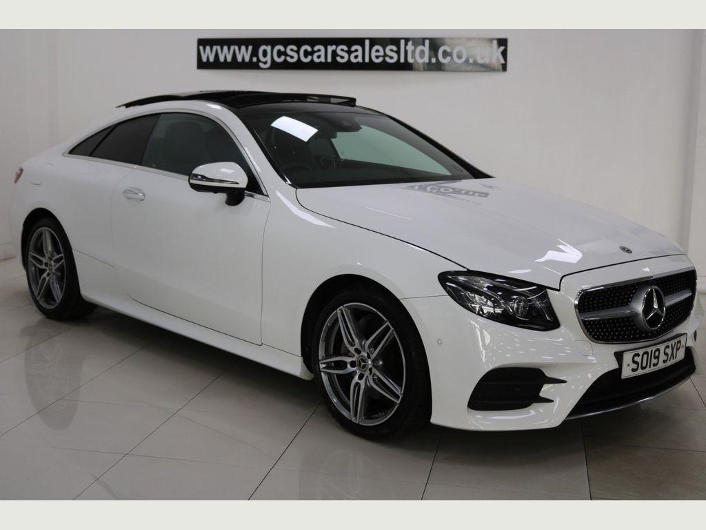 Mercedes-Benz E Class Coupe 2.0 E220d AMG Line (Premium Plus) G-Tronic+ (s/s) 2dr