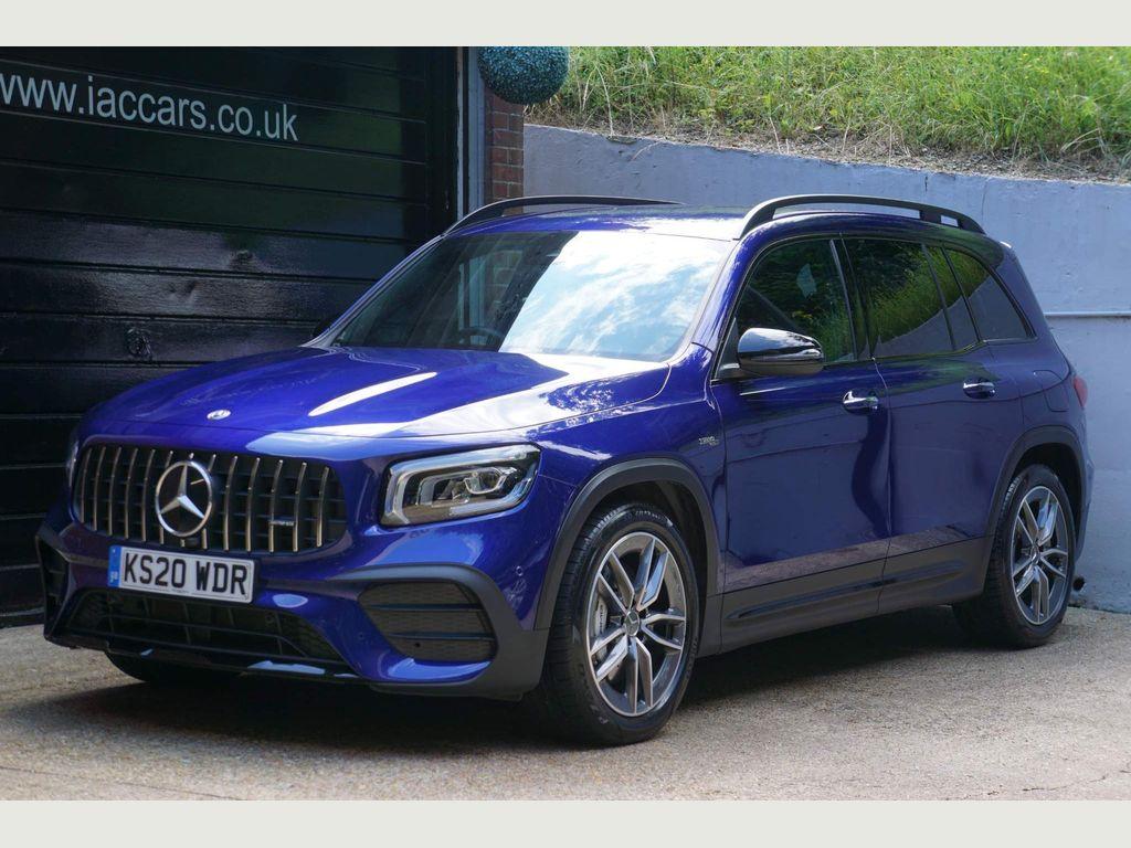 Mercedes-Benz GLB Class SUV 2.0 GLB35 AMG (Premium Plus) G-Tronic 4MATIC (s/s) 5dr (7 Seat)