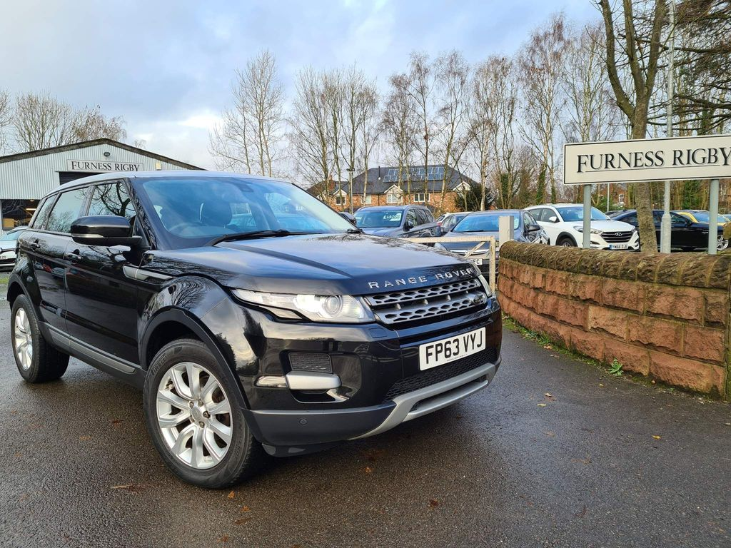 Used Land Rover Range Rover Evoque Suv 2 2 Sd4 Pure Tech Awd 5dr In Warrington Cheshire Furness Rigby