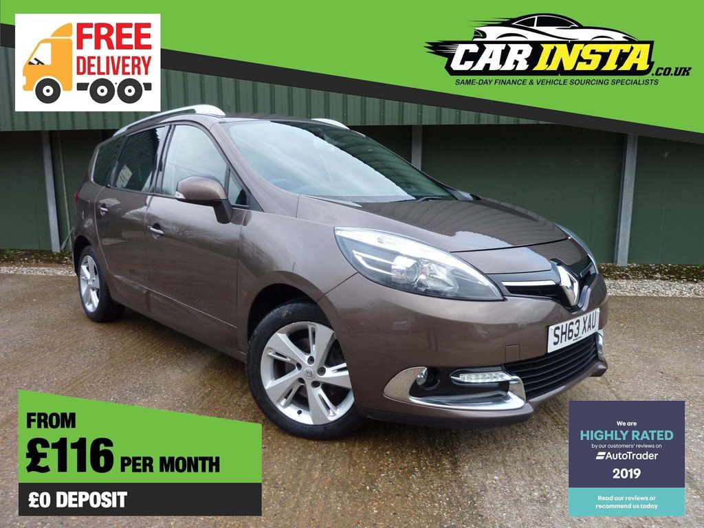 Renault Grand Scenic MPV 1.6 TD ENERGY Dynamique TomTom (s/s) 5dr