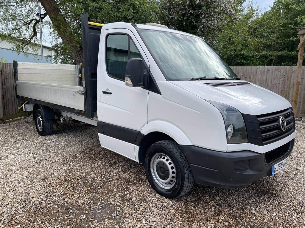 Volkswagen Crafter Dropside 2.0 TDi CR35 15FT DROPSIDE LORRY