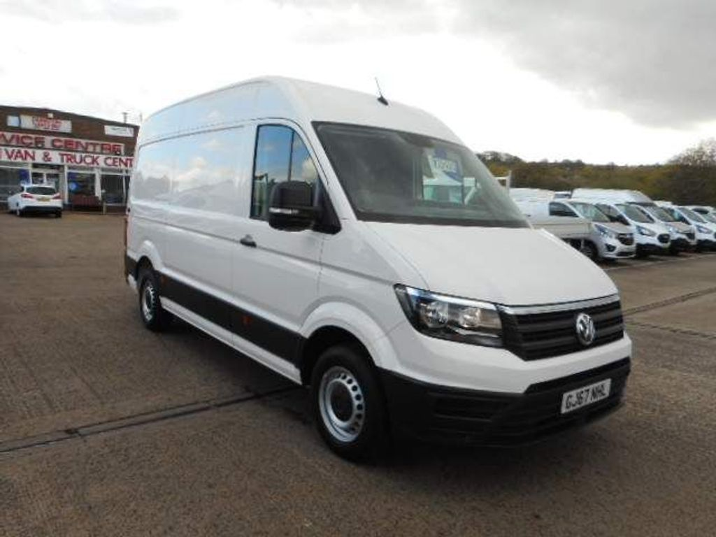 Volkswagen Crafter Panel Van 2.0 TDI CR35 BlueMotion Tech Trendline FWD MWB High Roof EU6 (s/s) 5dr