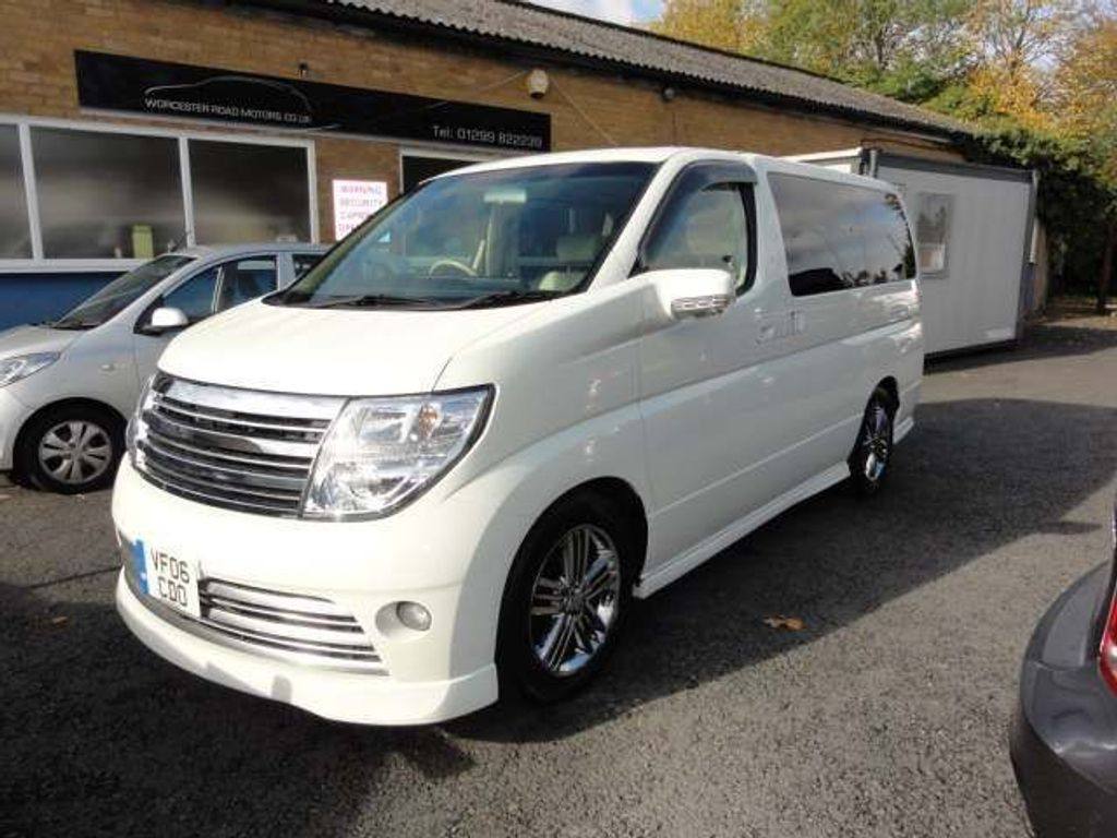 Nissan Elgrand MPV RIDER LEATHER S/ROOFS SUPER EXAMPLE