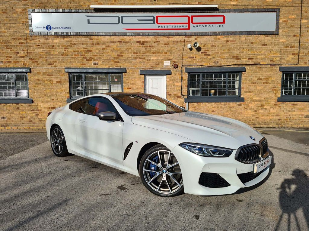 BMW 8 Series Coupe 4.4 M850i V8 Steptronic xDrive (s/s) 2dr
