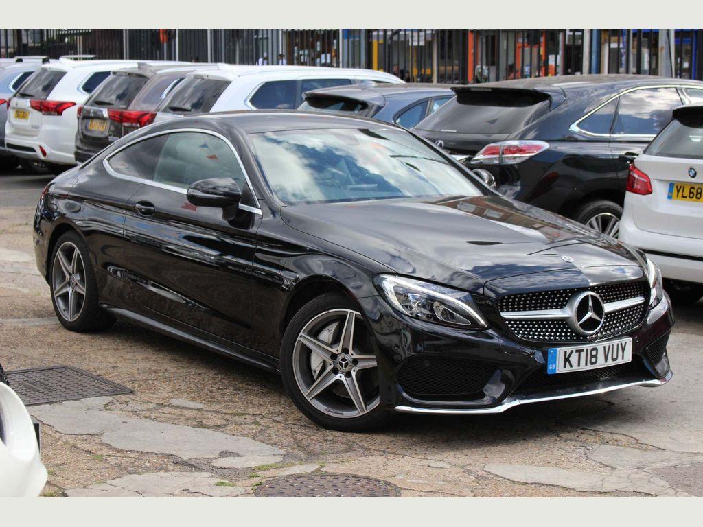 Mercedes-Benz C Class Coupe 2.1 C250d AMG Line G-Tronic+ (s/s) 2dr
