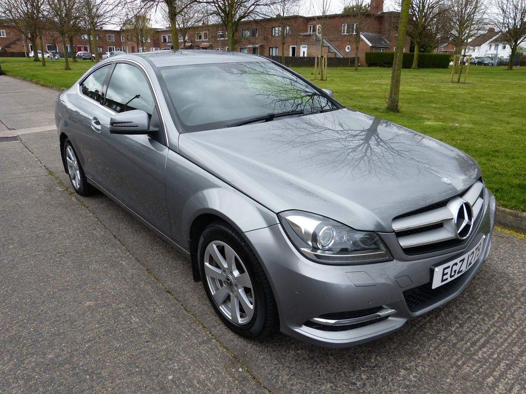 Mercedes-Benz C Class Coupe 2.1 C220 CDI SE (Executive) 7G-Tronic Plus 2dr (Map Pilot)