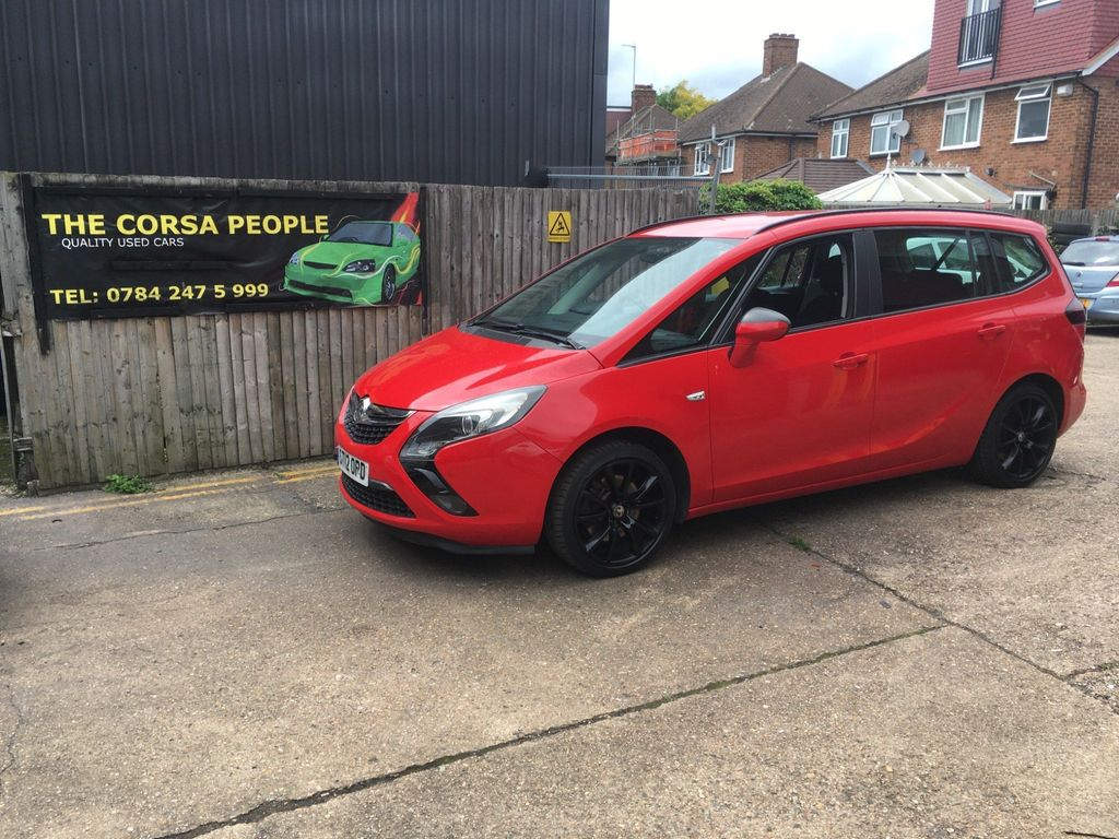 Vauxhall Zafira Tourer MPV 2.0 CDTi Exclusiv Tourer Auto 5dr