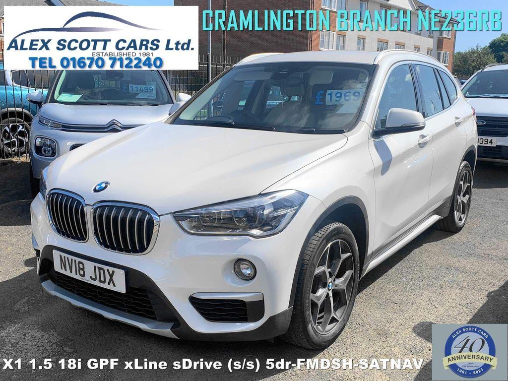 BMW X1 SUV 1.5 18i GPF xLine sDrive (s/s) 5dr