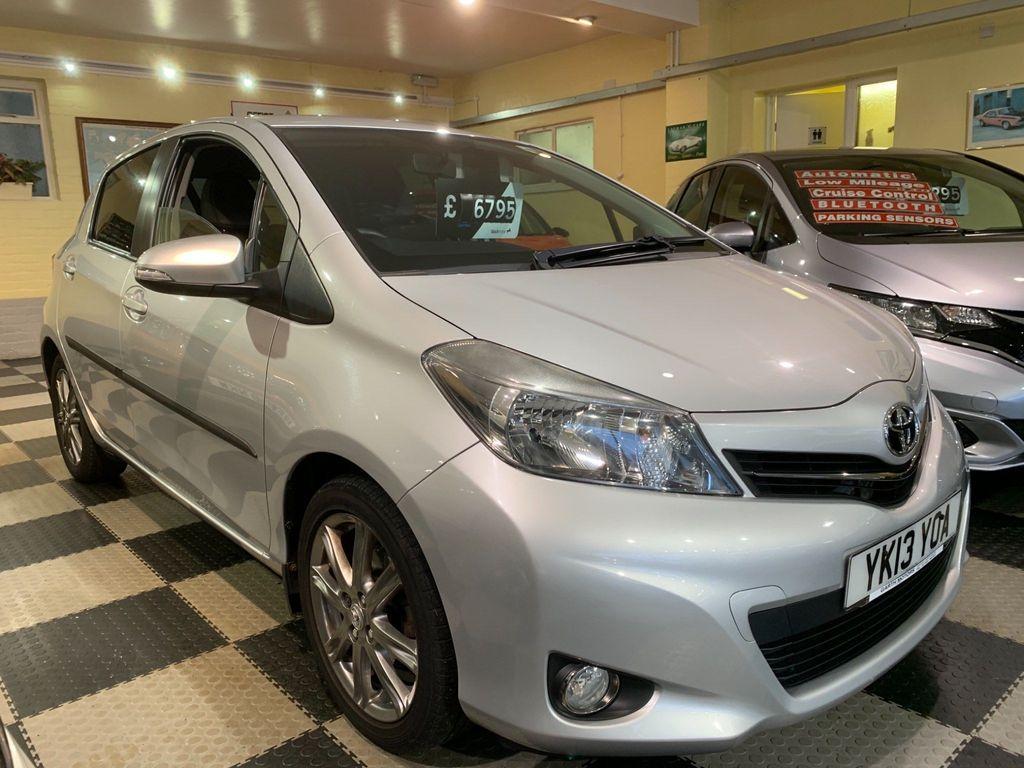 Toyota Yaris Hatchback 1.33 VVT-i SR M-Drive S 5dr