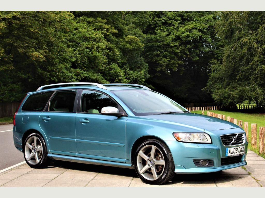 Volvo V50 Estate 2.0 D R-Design SE Sport 5dr