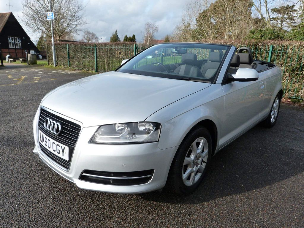 Audi A3 Cabriolet Convertible 1.8 TFSI Cabriolet S Tronic 2dr