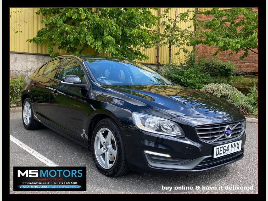 Volvo S60 Saloon 2.0 D4 Business Edition Geartronic (s/s) 4dr