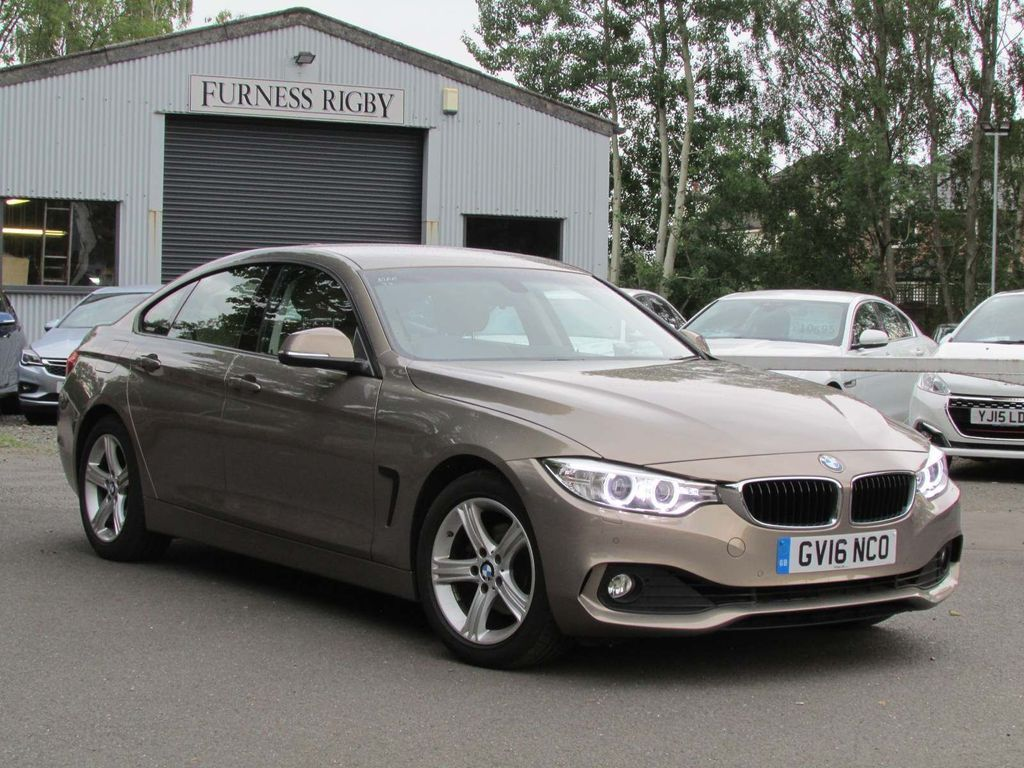 BMW 4 Series Gran Coupe Coupe 2.0 420i SE Gran Coupe (s/s) 5dr