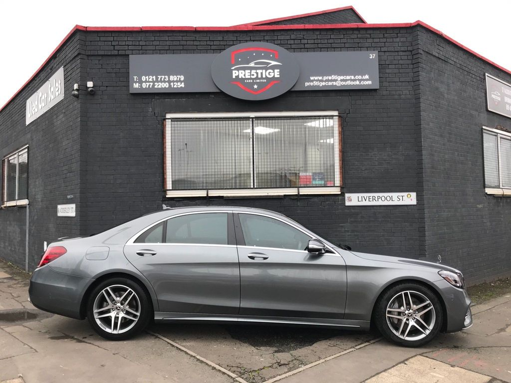 Mercedes-Benz S Class Saloon 3.0 S450L EQ Boost AMG Line G-Tronic+ (s/s) 4dr
