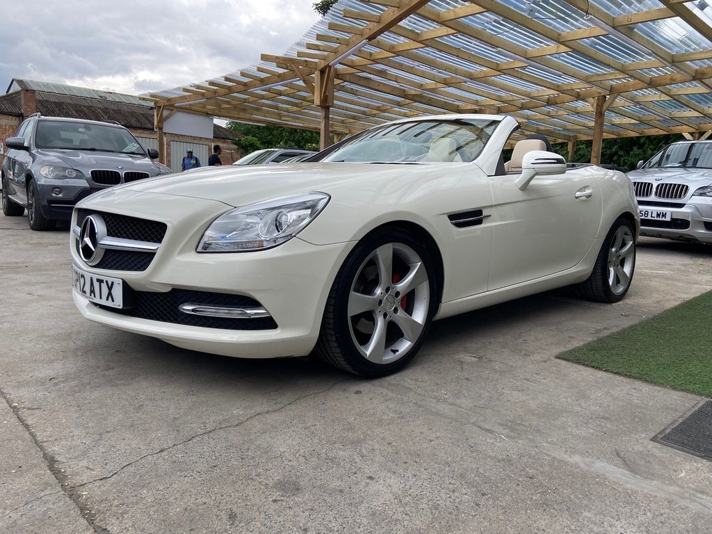 Mercedes-Benz SLK Convertible 1.8 SLK200 BlueEFFICIENCY 7G-Tronic Plus 2dr