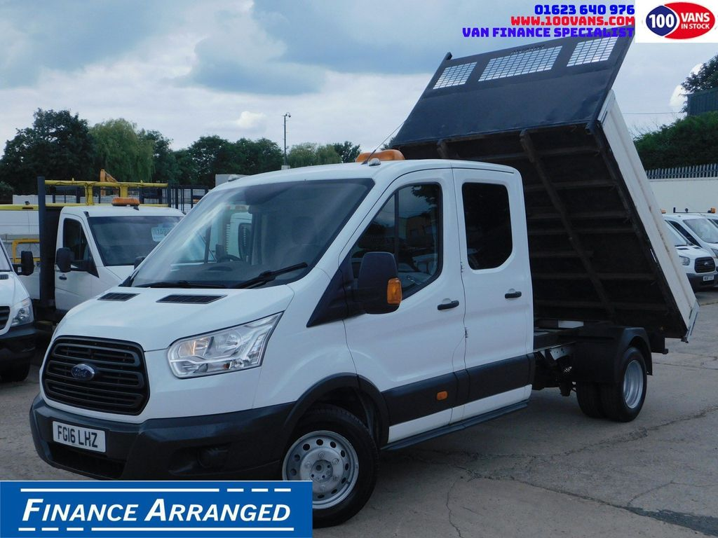Ford Transit Tipper 2.2TDCI CREW CAB UTILITY F/S/H 1 OWNER