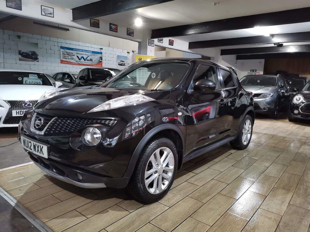 Nissan Juke SUV 1.6 DIG-T Tekna CVT 4WD 5dr