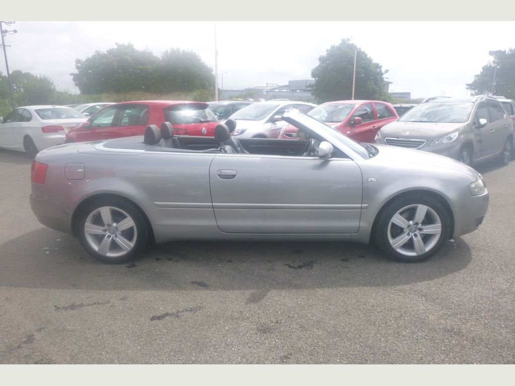 Used Audi A4 Cabriolet Convertible 1 8 T Sport Cabriolet 2dr In Penzance Cornwall Gmo Cars