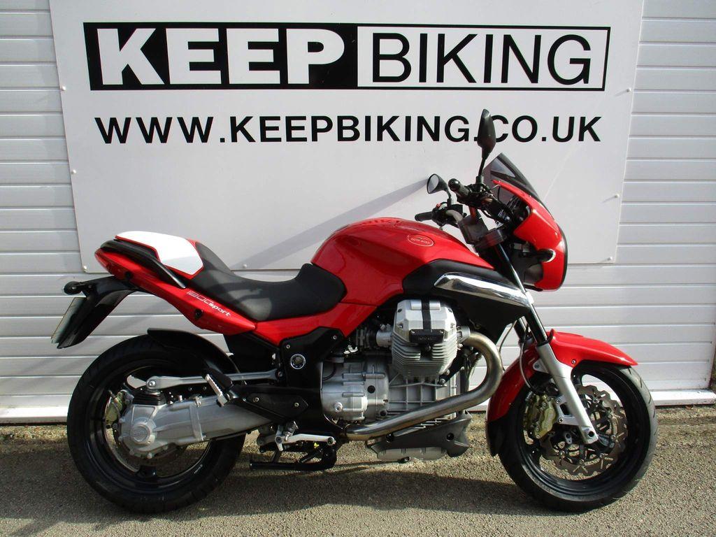Moto Guzzi V1200 Naked 1200 Sport