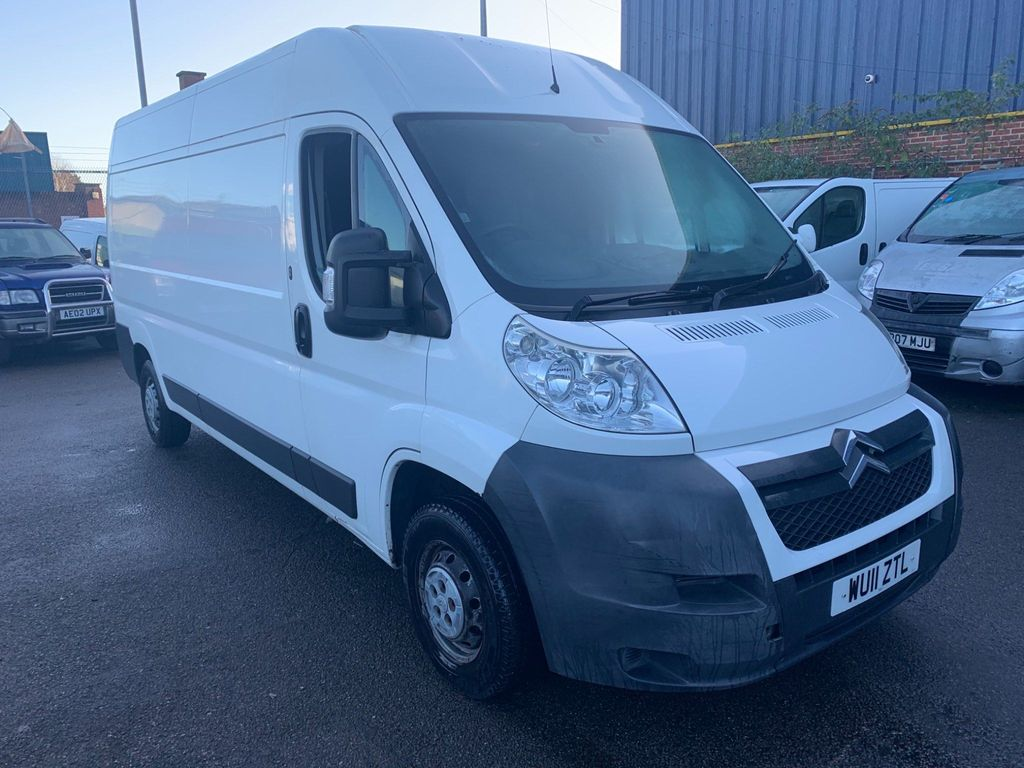 Citroen Relay Panel Van 2.2 HDi 33 L2 High Roof Van 4dr