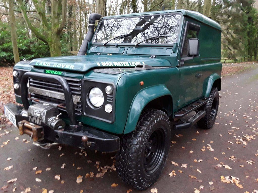 Land Rover Defender 90 Car Derived Van