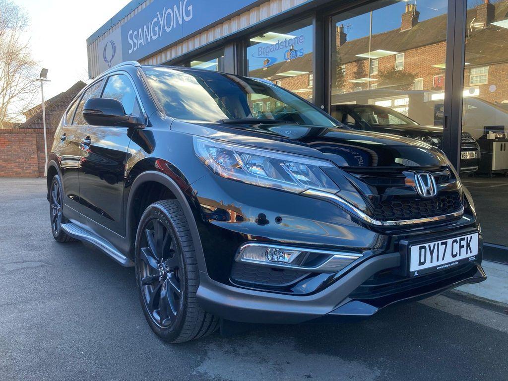 Honda CR-V SUV 1.6 i-DTEC Black Edition Auto 4WD 5dr