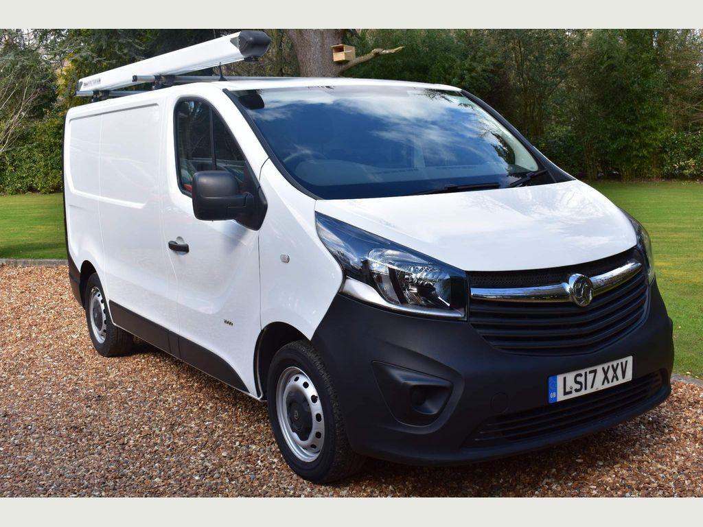 Vauxhall Vivaro Panel Van 1.6 CDTi 2900 ecoFLEX L1 H1 EU6 (s/s) 5dr