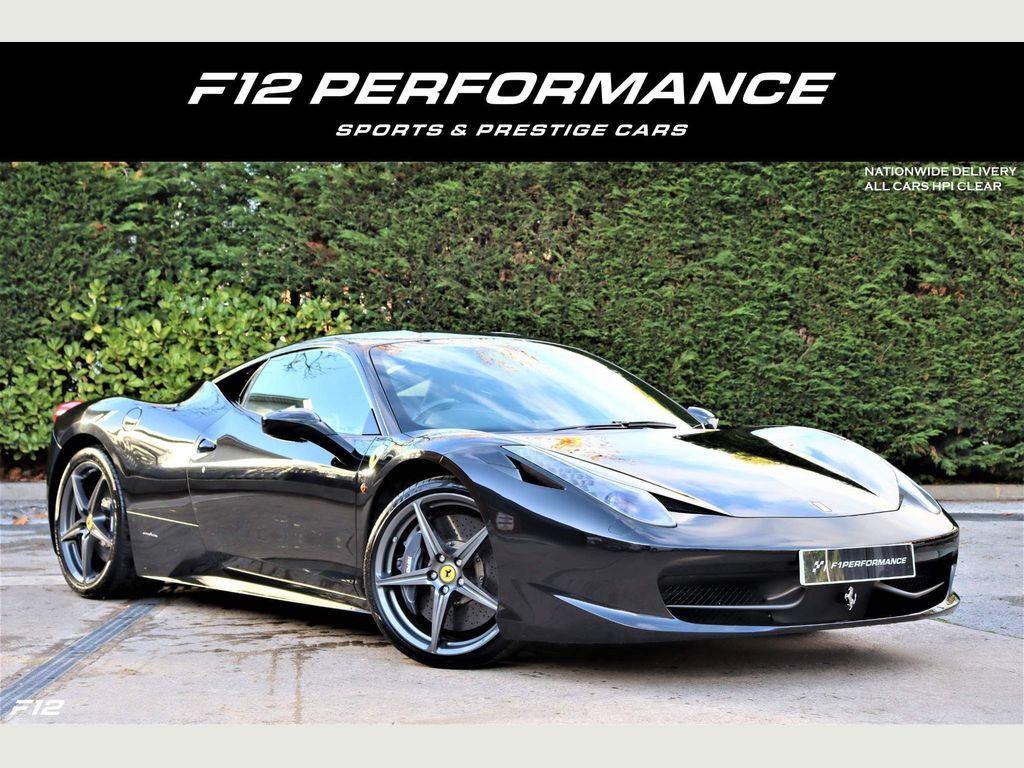 Ferrari 458 Coupe 4.5 Italia Auto Seq 2dr