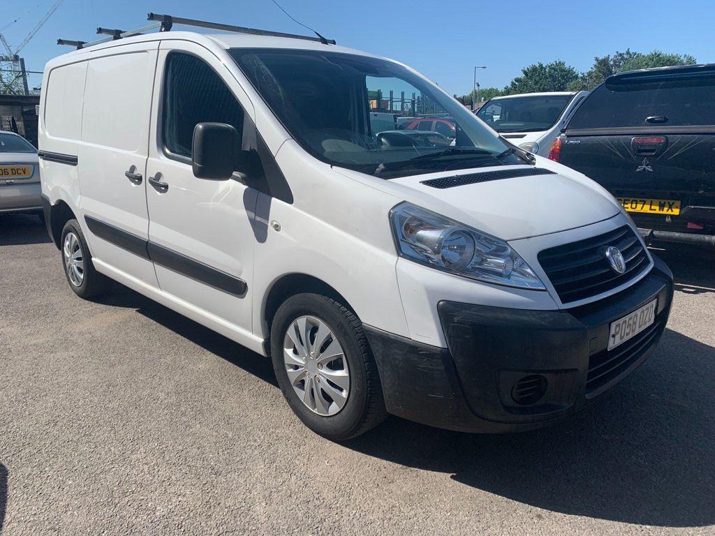 Fiat Scudo Panel Van 1.6 JTD Multijet L1H1 Comfort Panel Van SWB 5dr
