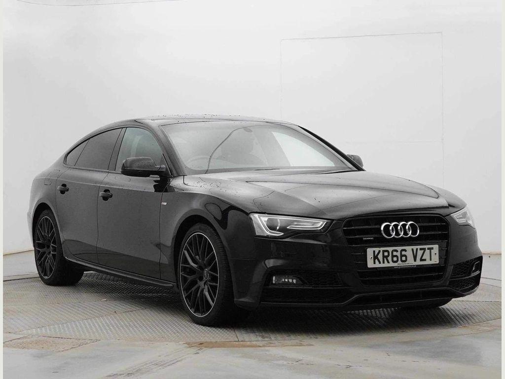 Audi A5 Hatchback 2.0 TDI Black Edition Plus Sportback S Tronic quattro (s/s) 5dr