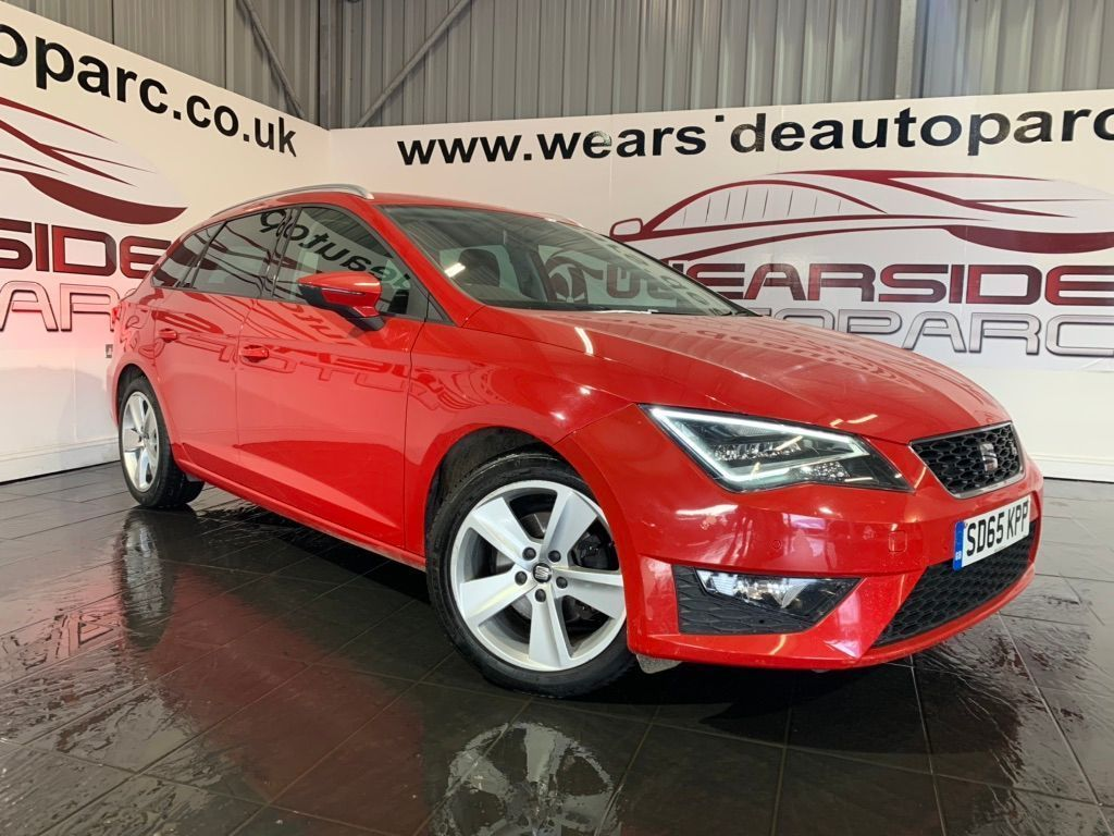 SEAT Leon Estate 2.0 TDI FR (Tech Pack) ST (s/s) 5dr